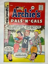 ARCHIE'S PALS 'N' GALS GIANT #10 (Fall 1959) FN/VF 7.0