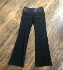 Alvin Valley Leather panel Flat Front/Straight Leg Pant - Size 34