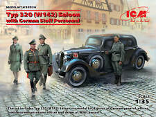 ICM 1/35 Typ 320 (W142) Saloon WWII German Staff Car with German Staff Personnel