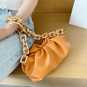 Women Cloud bag Leather Hobos Bag Single Shoulder Purse Women Crossbody Handbag