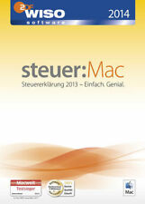 WISO Steuer MAC 2014 für die Steuererklärung 2013 mit kostenlosen Versand