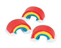 Pack of 24 - Mini Rainbow Rubber Erasers - Teacher Rewards