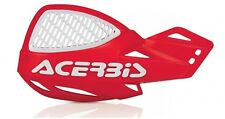 ACERBIS MX UNIKO VENTED HAND GUARDS RED/WHITE CRF CR XR   Motocross Universal