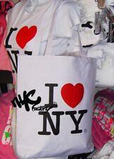 I LOVE NY TOTE SHOULDER BAG SHOPPING BLACK WHITE PINK Gift Event Wedding Favor