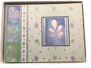 "C.R Gibson  All-Purpose ""Silver Spa"" Guest Book  G2-75  New in Box"