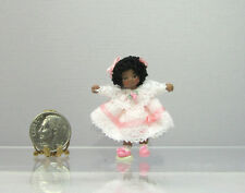 Dollhouse Miniature BABY AVA Angel Children Doll by Ethel Hicks