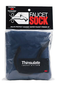 Custom Products 3M Thinsulate Outdoor Wall Faucet Sock Cover, Small