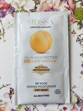 MOSSA SAMPLE SACHET CERTIFIED ORGANIC SKIN PERFECTING TINTED BB CREAM 2 ML