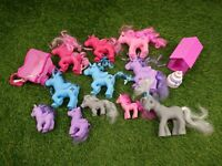 My Little Pony Bundle 20 + Carriage MLP 2002-2015 Fakies Unicorns