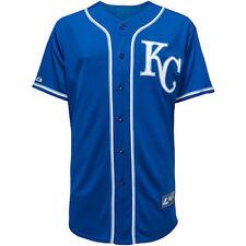 MLB Baseball Trikot/jersey Kansas City Royals blau KC Von Majestic