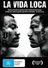 LA VIDA LOCA - EL SALVADOR GANG BANGERS - NEW REGION 4 DVD - FREE LOCAL POST