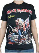 T-shirt IRON MAIDEN Maglia Rock Band Registrata ed Approvata Music Maglietta