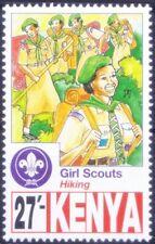 Kenya 1997 MNH, Girls Scout, Hiking -