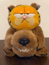 Vintage Dakin 1981 Garfield Furry Tales Big Bad Wolf Costume Plush Doll Toy