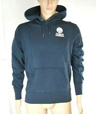 Felpa Uomo Cappuccio FRANKLIN & MARSHALL Hoodie Made in Italy H096 Blu Tg XL