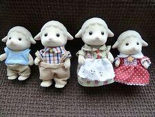 Sylvanian Families la familia de Ovejas Dale-Epoch 1985 2006