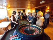 FUN CASINO - Croupier and Roulette Table For Hire - Roulette Dealer
