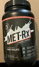 NEW SEALED MET-RX WHEY ISOLATE Protein Powder Vanilla 03/2020