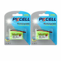 2PCS/Cards 3.6V 800mAh NI-MH Battery Pack for Cordless Home Phone Uniden BT-909