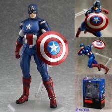 Figma 226 Marvel's The Avengers Captain America Figma Anime Action Figure Toy