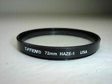 Tiffen 72mm HAZE - 1  ( UV ) Filter  U.S.A.