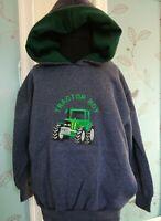 children  nelson Ashby equestrian  tractor boy  hoodie