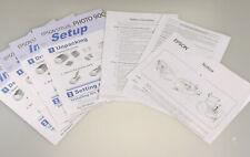 PRL) Epson Stylus Photo 900 instructions use installation setup printer printer