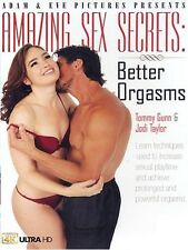 Amazing Sex Secrets To Better Orgasms DVD Like  Brand New!!!