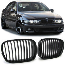 FRONT GRILLS BLACK FOR BMW E39 95-03 LIMO + TOURING SPOILER BODY KIT NEW