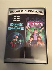 Cloak & Dagger / The Wizard - Double Feature Region 1 DVD - Kids / Comedy