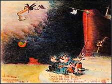 KRAZY KAT GEORGE HERRIMAN CARTOON COMIC ANIMALS ART PRINT POSTER PICTURE HP385