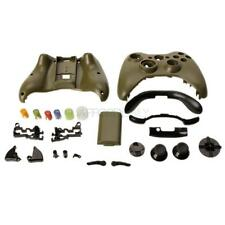 New Cover Shell Case + Buttons Kit for Xbox 360 Game Controller Army Green HK