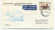 1958 Expedition Antarctique Belge Borgehout Polar Antarctic Cover