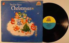 The Care Bears Christmas LP M- 1983 Xmas Kid Stuff KSS-5040 original