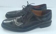 Bostonian Black Lace Up Classic Leather First Flex Oxford Shoe Men's Sz 13 M