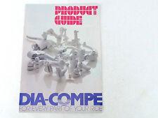 Dia Compe catalog 1990 Brochure Vintage Bike MX901 BRS Nippon 22 pages Compe