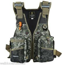 Digital Camouflage Buoyancy Aid Sailing Fishing Kayak Canoeing Life Jacket Vest