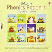 Usborne Phonics Readers - 12 Book Set - Illustrated by Stephen Cartwright