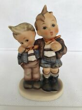 Hummel 123 Max And Moritz Tmk4 Two Boys One With Arm Around The Other 5 1/4�