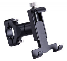 "T Shaped Alloy ATV Scooter MTB Bike Handlebar Phone Holder Bracket fit 4.5-6.8"""