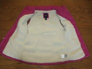 NEW Gap Girls Sherpa Lined Vest Size XL 12 Runs smaller, better fit size 10
