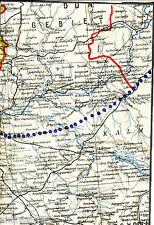 Шахты Shakhty 1941 ORIG. mapa/ln. новочеркасск Novocherkassk мариинская Pravda