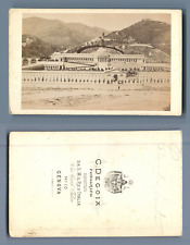 C. Degoix, Genova, Camp Santo  CDV vintage albumen. Vintage Italy  Tirage albu