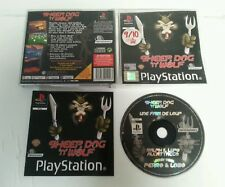 PLAYSTATION 1 - PS1 Sheep, Dog 'N' Wolf Game Complete Infogrames PAL Sony 2001