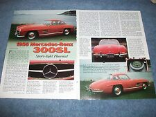 "1956 Mercedes-Benz 300SL Gullwing History Info Article ""Sport-Light Phoenix"""