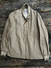 """MAUS & HOFFMAN large [L] """"Classic Varsity"""" full zip jacket made in USA"""