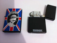 SEX PISTOLS Refillable Metal LIGHTER God Save The Queen NEW OFFICIAL RARE