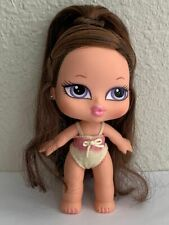 Bratz Babyz Girlz Hair Flair Dana Doll Brown Hair Violet Eyes Original Clothes