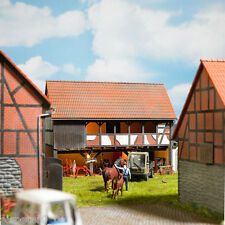 Busch 1511, Farmhouse: Shelter (Vierseithof), H0 Building Craft Kit 1:87