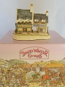 David Winter Cottages 1991, The Irish Collection Fogarty's. Hand painted 🇬🇧